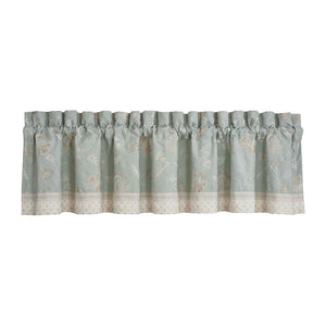 Garden View SPA Straight Window Valance [Luxury comforter Sets] [by Latest Bedding]