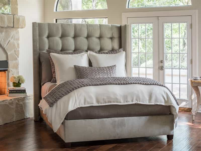 Gia Ivory Cotton/Silk Duvet Cover Duvet By Lili Alessandra