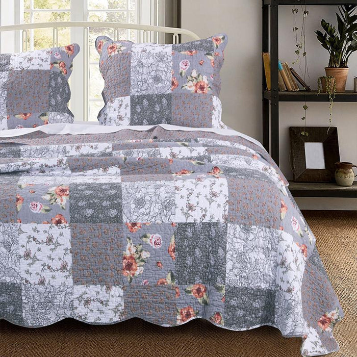 Giulia Multi Reversible 3-Piece Quilt Set