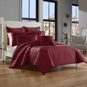 Glacier Wine Coverlet [Luxury comforter Sets] [by Latest Bedding]