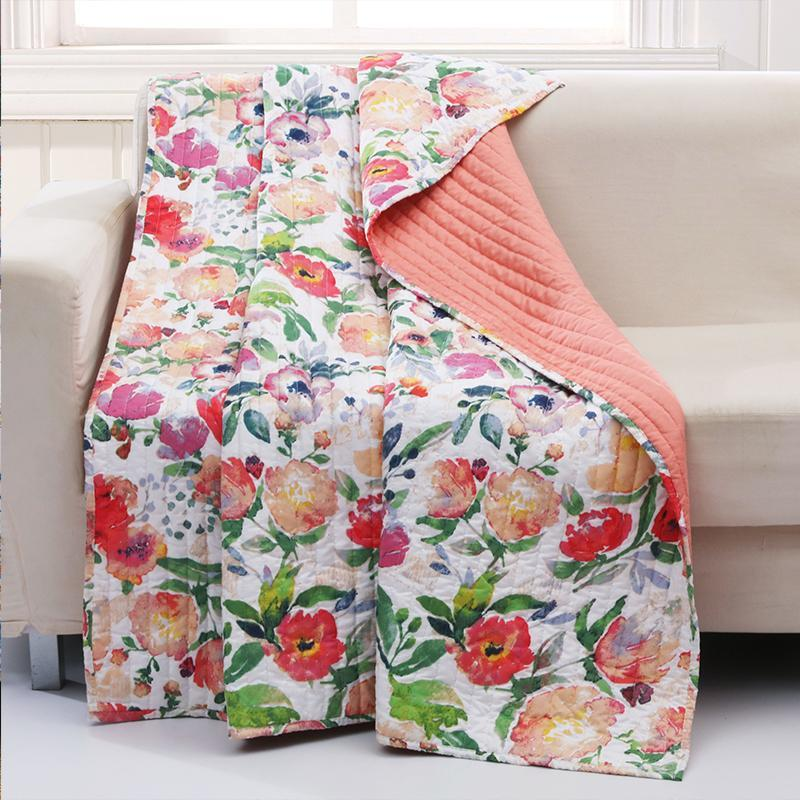 Throws Blossom Throw - Poly/Cotton Latest Bedding