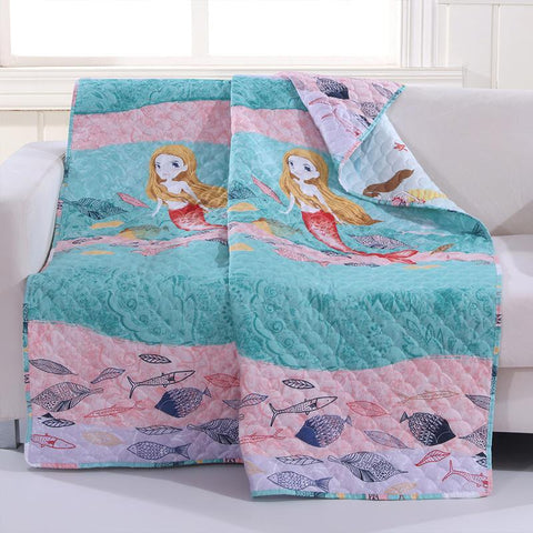 Throws Mermaid Multi Throw Latest Bedding