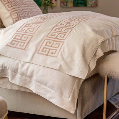 Guy Ivory Basketweave Blush Velvet Throw Throws By Lili Alessandra