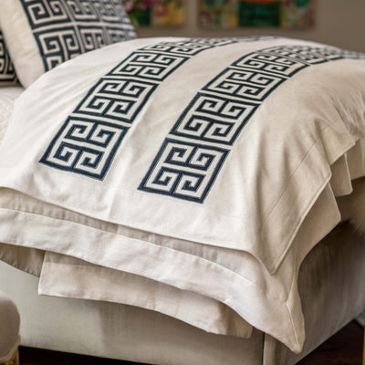 Guy Ivory Basketweave Midnight Velvet Throw Throws By Lili Alessandra