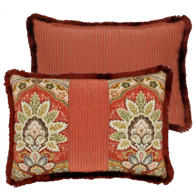Harrogate Multi Paisley Breakfast Pillow [Luxury comforter Sets] [by Latest Bedding]