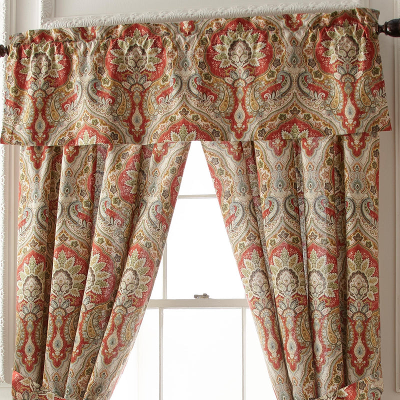 Harrogate Multi Paisley Window Valance [Luxury comforter Sets] [by Latest Bedding]
