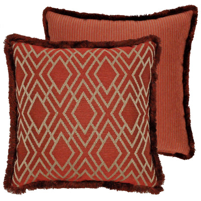 Harrogate Multi Ribbed Throw Pillow Throw Pillows By P/Kaufmann
