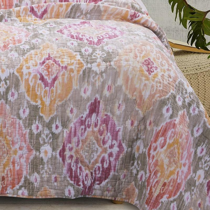 Ibiza Multi 3-Piece Quilt Set [Luxury comforter Sets] [by Latest Bedding]