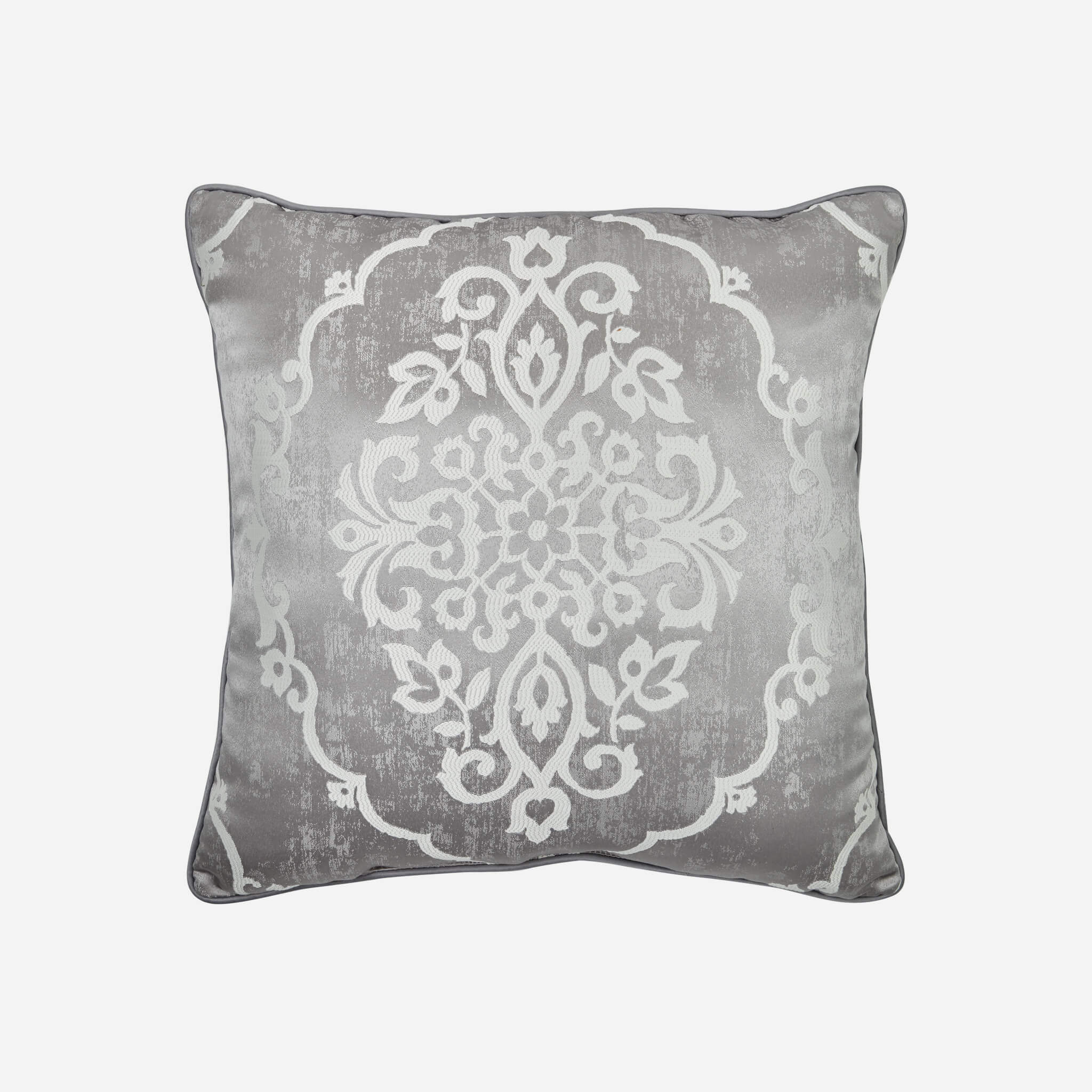 "Isla Grey Square Throw Pillow 20"" x 20"" By Croscill [Luxury comforter Sets] [by Latest Bedding]"
