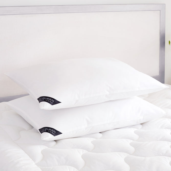 Royalty 233 White Medium Pillow Pair
