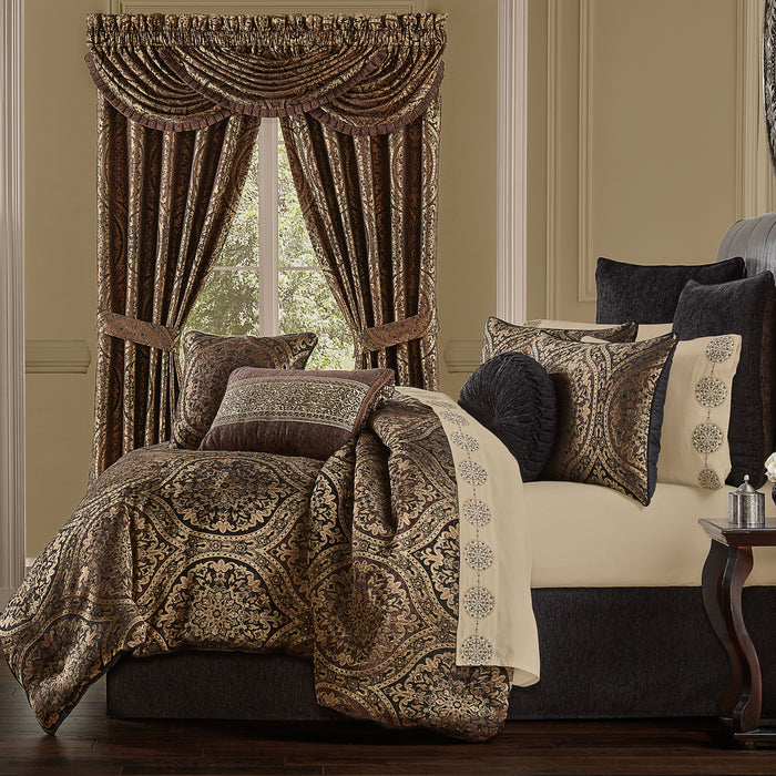 Jordan Chocolate 4-Piece Comforter Set