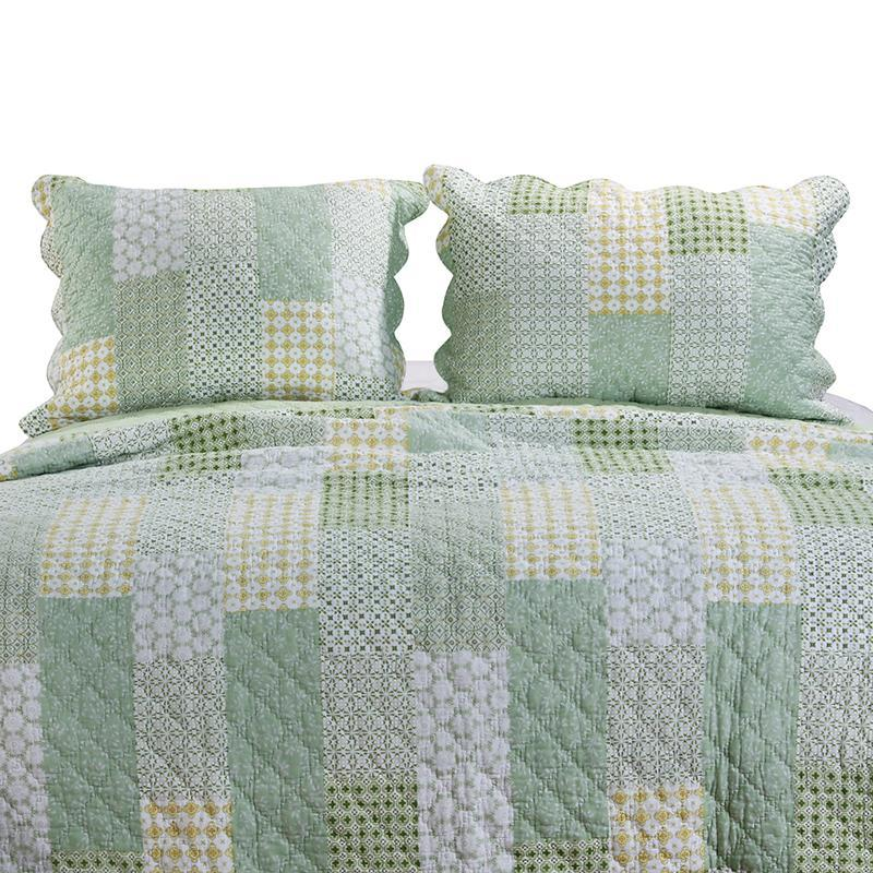 Juniper Sage Sham [Luxury comforter Sets] [by Latest Bedding]