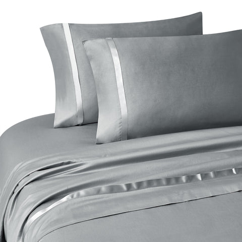 Kiley Platinum 4-Piece Sheet Set [Luxury comforter Sets] [by Latest Bedding]
