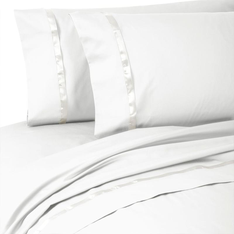 Kiley White 4-Piece Sheet Set [Luxury comforter Sets] [by Latest Bedding]