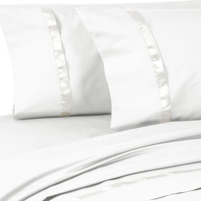 Kiley White Pillowcase Set [Luxury comforter Sets] [by Latest Bedding]
