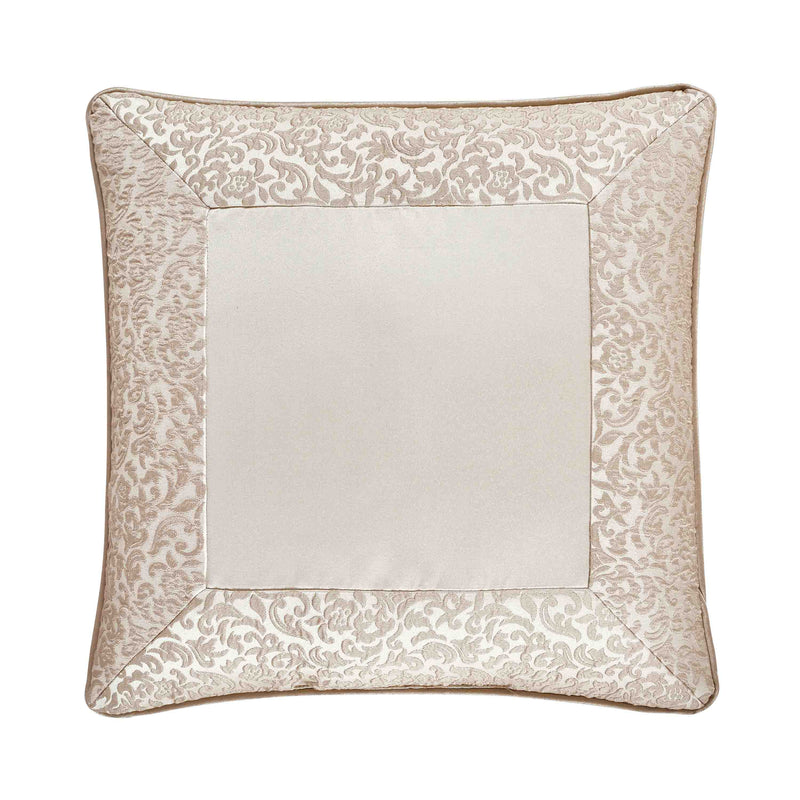 "LaScala Gold Square Decorative Throw Pillow 18"" x 18"" [Luxury comforter Sets] [by Latest Bedding]"