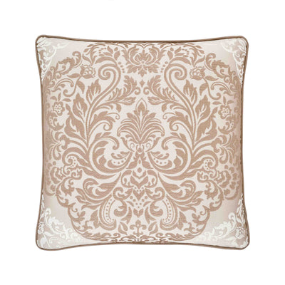 "LaScala Gold Square Decorative Throw Pillow 20"" x 20"" [Luxury comforter Sets] [by Latest Bedding]"