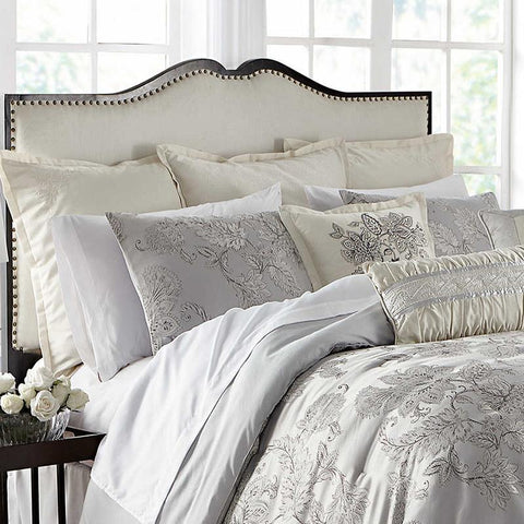 Comforter Sets Lacy Silver 4 Piece Comforter Set Latest Bedding