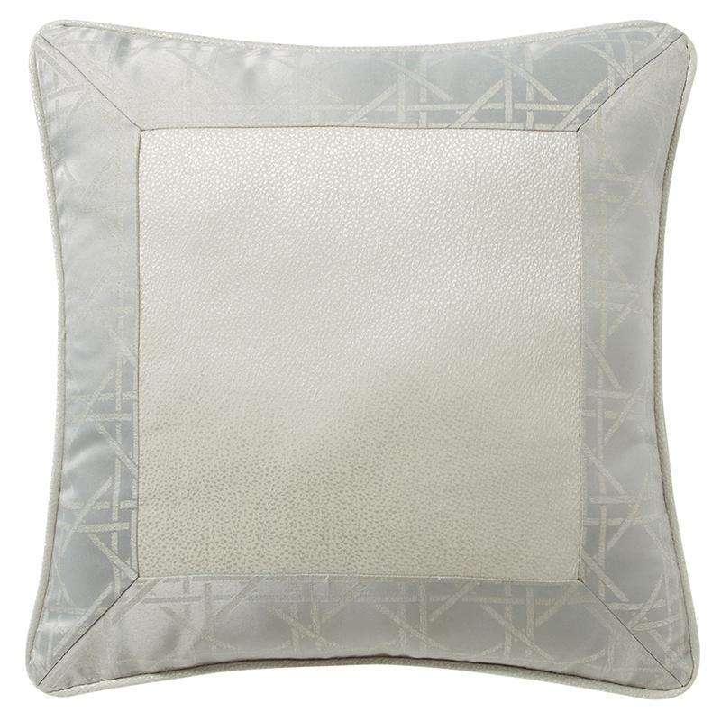 "Lacy Silver Decorative Pillow 16"" X 16"" [Luxury comforter Sets] [by Latest Bedding]"