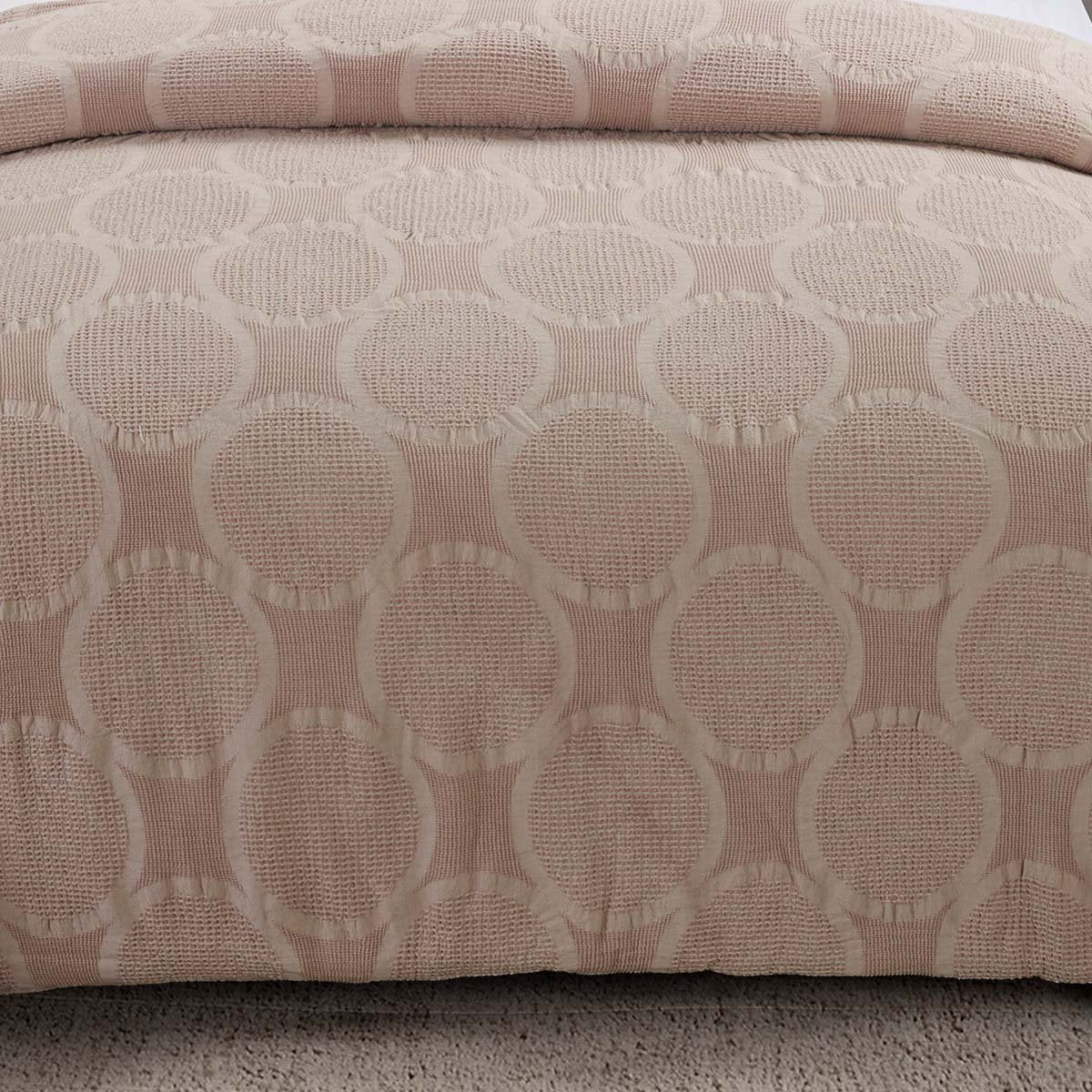 Leon Blush 3-Piece Comforter Set [Luxury comforter Sets] [by Latest Bedding]