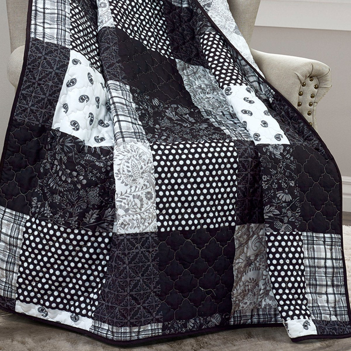 London Reversible Throw Throws By Donna Sharp