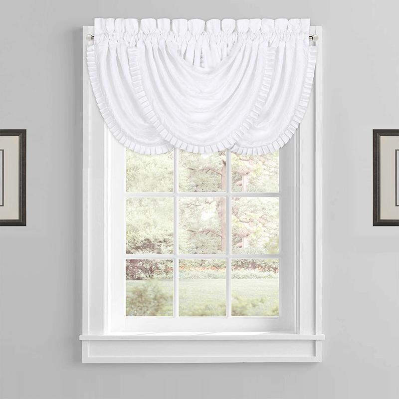 Mackay White Waterfall Window Valance Window Valance By J. Queen New York