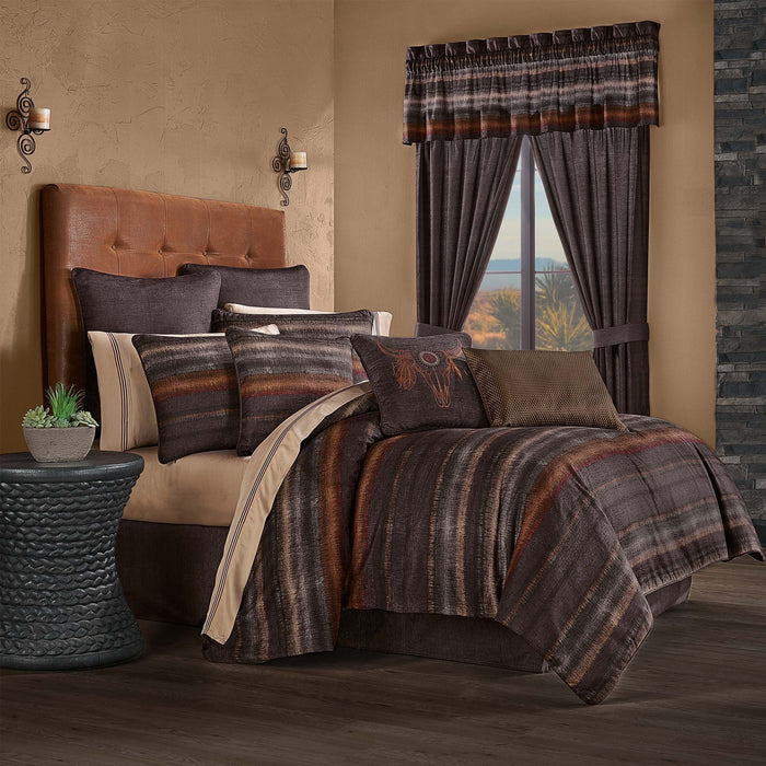 Mesa Chocolate 4-Piece Comforter Set