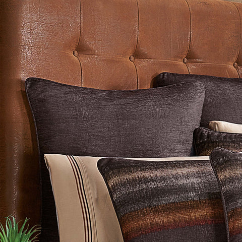 Mesa Chocolate Euro Sham [Luxury comforter Sets] [by Latest Bedding]