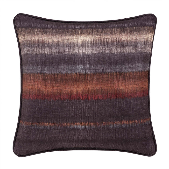 "Mesa Chocolate Throw Pillow 20"" x 20"""