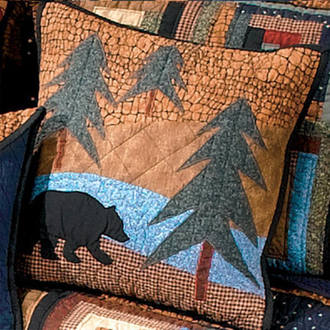 Midnight Bear Decorative Pillow [Luxury comforter Sets] [by Latest Bedding]