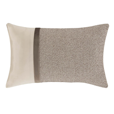 "Milan Oatmeal Boudoir Decorative Throw Pillow 21"" x 13""- Throw Pillows By J. Queen New York"
