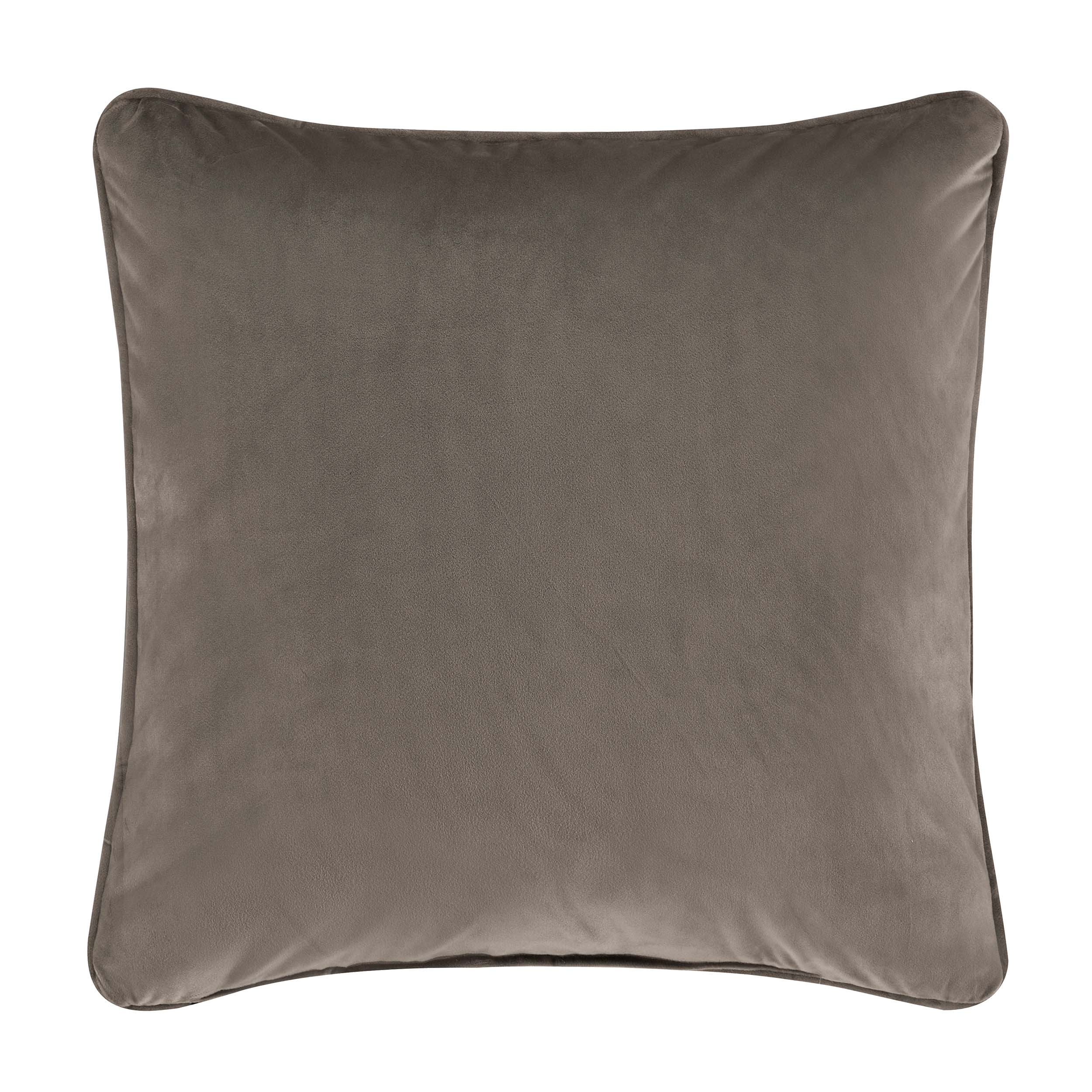 "Milan Oatmeal Decorative Throw Pillow 18"" x 18"" Throw Pillows By J. Queen New York"