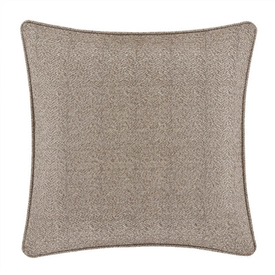 Milan Oatmeal Euro Sham- [Luxury comforter Sets] [by Latest Bedding]