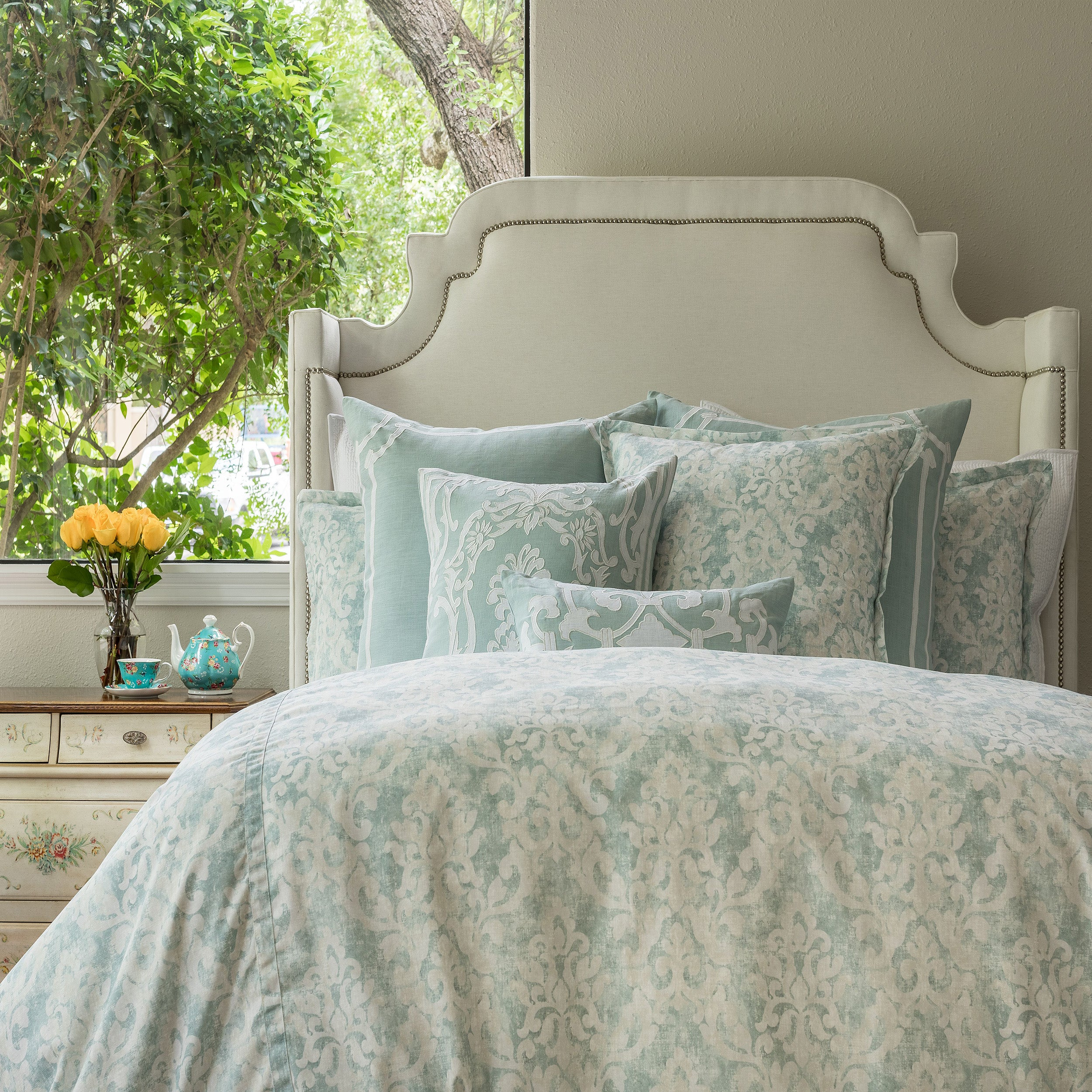 Milan Spa Duvet Cover - Lili Alessandra [Luxury comforter Sets] [by Latest Bedding]