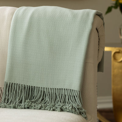Milan Spa Pasha Throw - Lili Alessandra Throws By Lili Alessandra