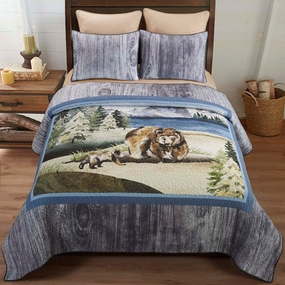 Montana Morning 3-Piece Quilt Set Quilt Sets By Donna Sharp
