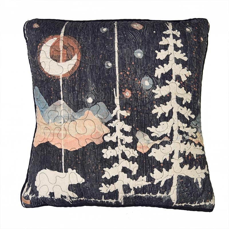 Moonlit Bear Decorative Pillow [Luxury comforter Sets] [by Latest Bedding]