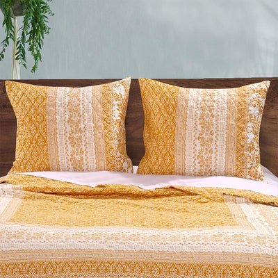 Mykonos Gold Sham [Luxury comforter Sets] [by Latest Bedding]
