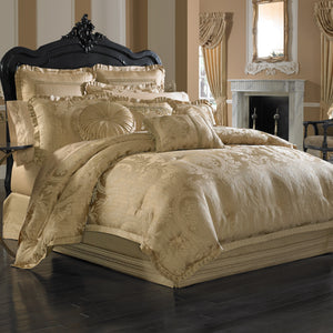 Napoleon Gold 4-Piece Comforter Set [Luxury comforter Sets] [by Latest Bedding]