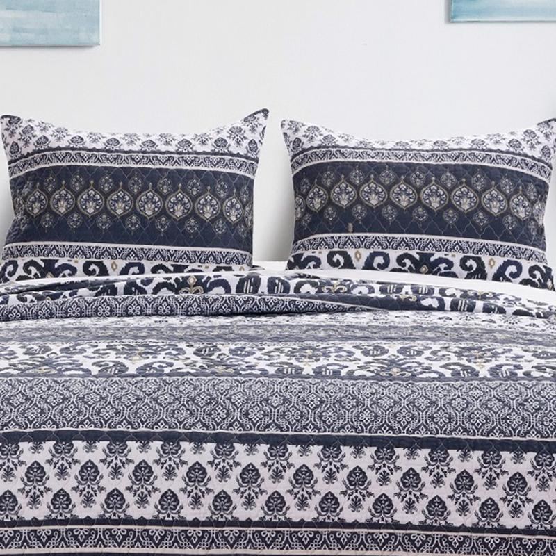 Quilt Sets Native Indigo 3-Piece Quilt Set Latest Bedding