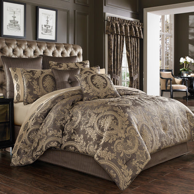 Neapolitan Mink 4-Piece Comforter Set [Luxury comforter Sets] [by Latest Bedding]