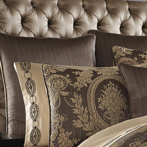 Neapolitan Mink Euro Sham [Luxury comforter Sets] [by Latest Bedding]