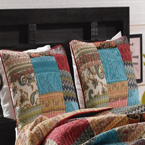New Bohemian Multi Sham [Luxury comforter Sets] [by Latest Bedding]