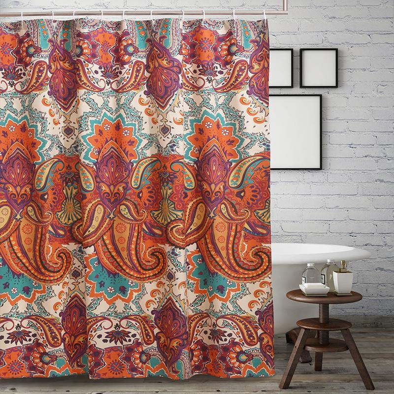 Nirvana Spice Bath Shower Curtain Shower Curtain By Greenland Home Fashions