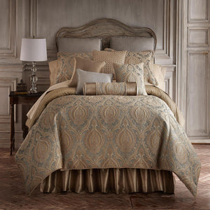Norwich Green 4-Piece Comforter Set [Luxury comforter Sets] [by Latest Bedding]