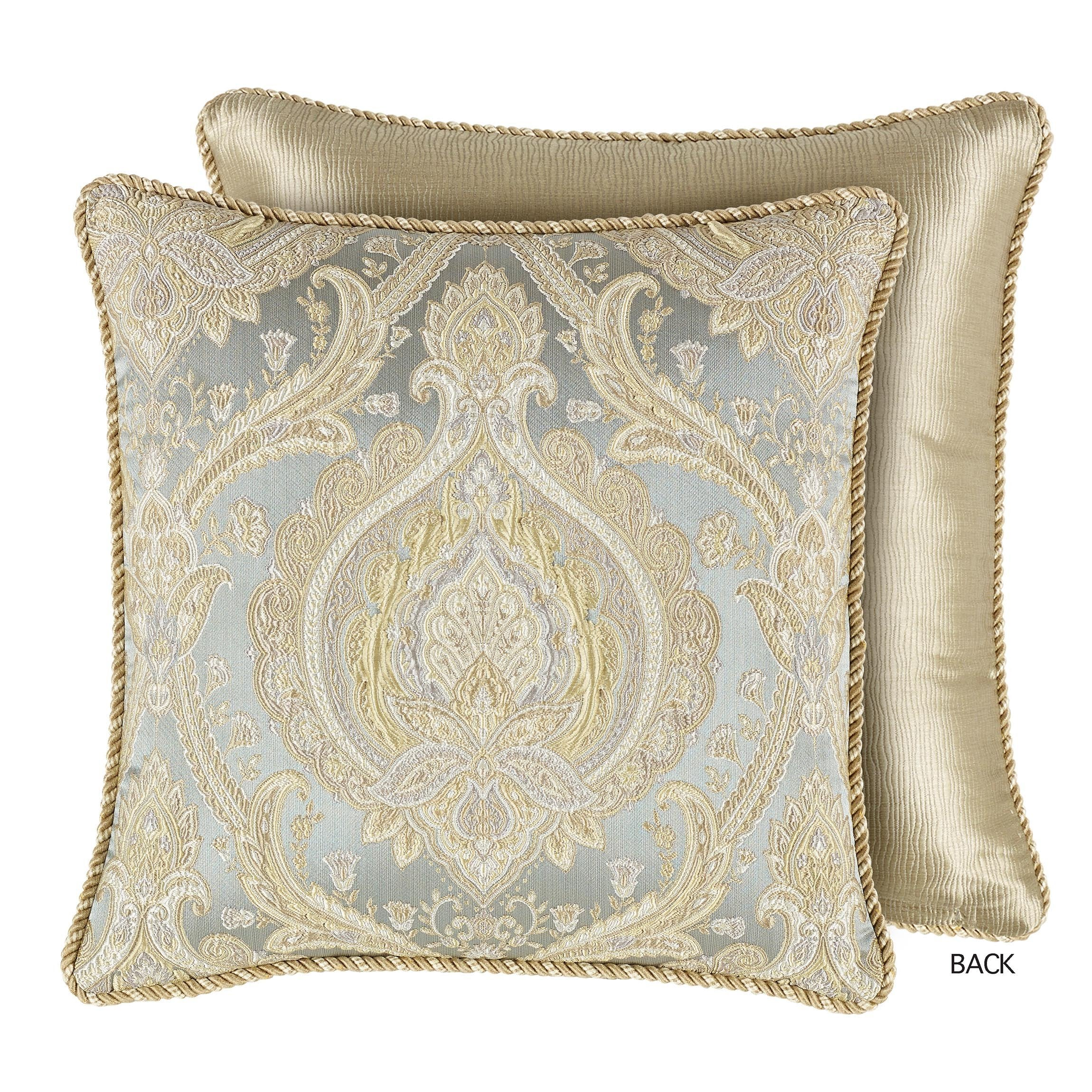 Norwich Green Throw Pillow [Luxury comforter Sets] [by Latest Bedding]
