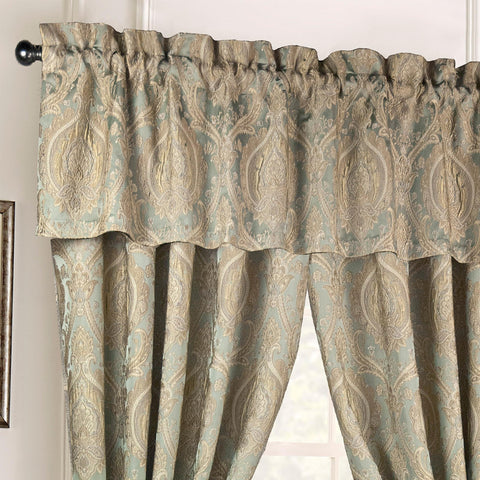 Norwich Green Window Valance [Luxury comforter Sets] [by Latest Bedding]