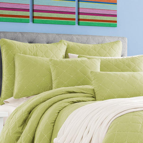 Oakland Green Coverlet [Luxury comforter Sets] [by Latest Bedding]