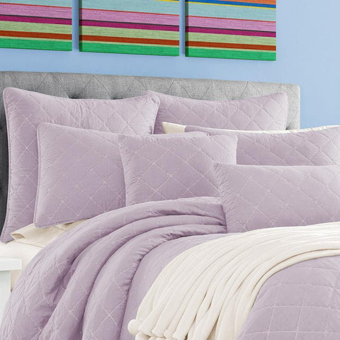 Oakland Lilac Coverlet [Luxury comforter Sets] [by Latest Bedding]