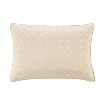 "Olann Gold Decorative Throw Pillow 20"" x 14"" [Luxury comforter Sets] [by Latest Bedding]"